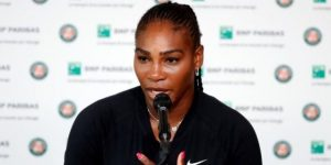 Serena Williams abandona antes de su duelo con Sharapova