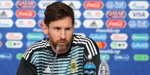 """Messi: """"No recuerdo tanto sufrimiento"""""""