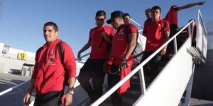 Selección peruana llegó a Suecia en su último ensayo previo al Mundial Rusia 2018