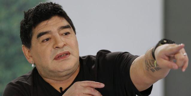 """Maradona: """"Estoy perfectamente bien, lo siento por algunos"""""""