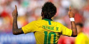 """Brasil se luce ante Austria y Neymar anota con una """"obra de arte"""""""