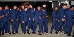 Brasil llega a Rusia para disputar el Mundial