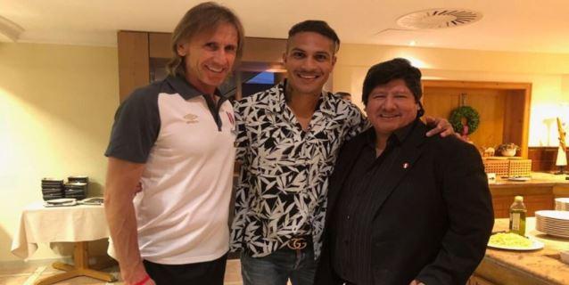 Paolo Guerrero ya está concentrado con la selección peruana