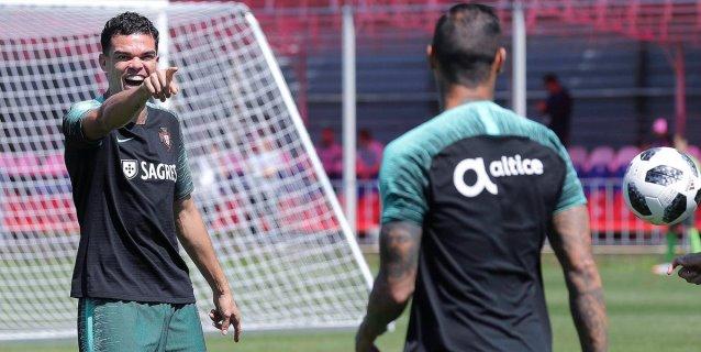 La Portugal de Cristiano ya entrena pensando en Marruecos