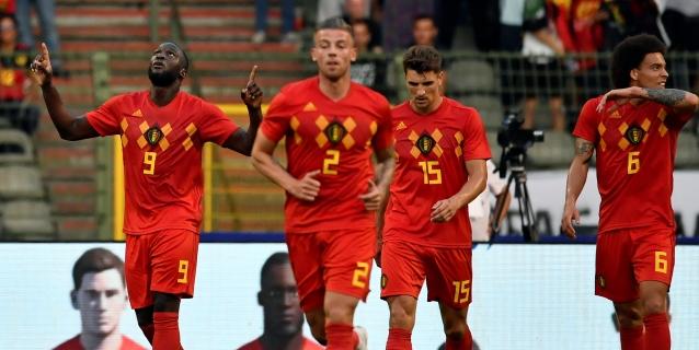 Bélgica muestra su fortaleza y vence 3-0 a un Egipto sin Salah