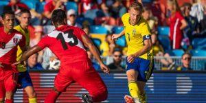 Suecia y Perú empataron en el último amistoso antes de Rusia 2018
