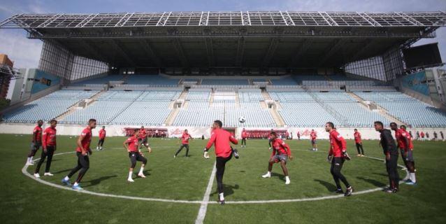Selección peruana realizó trabajos tácticos de manera privada en Moscú