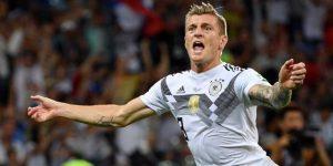 Kroos salva a Alemania en un heroico 2-1 ante Suecia
