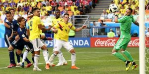 Japón tumba a Colombia para firmar otra sorpresa mundial