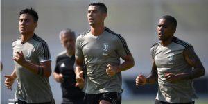 Cristiano Ronaldo se entrena por primera vez con la Juventus