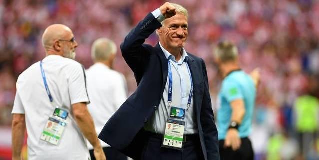 Deschamps, el tercer campeón mundial como jugador y entrenador