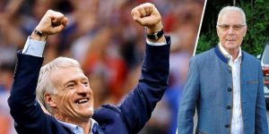 Beckenbauer felicita a Deschamps por unirse a club de doble campeones
