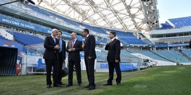 Putin da las gracias a la FIFA por confiar en Rusia