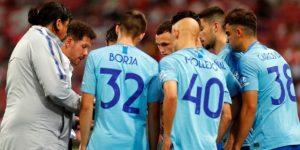 Adán detiene tres penales en su debut y Atlético le gana al Arsenal