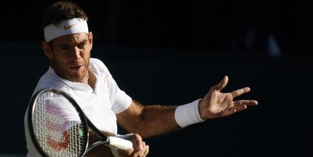 """Del Potro se despide de Wimbledon """"dejándolo todo"""""""