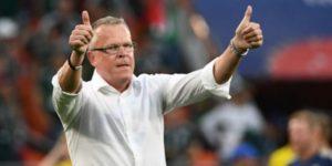 """El técnico Andersson: """"Inglaterra fue el mejor hoy"""""""