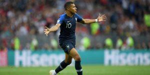 Mbappé es el segundo jugador más joven en marcar gol en una final