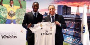 El Real Madrid presenta a Vinicius pero duda de su futuro inmediato
