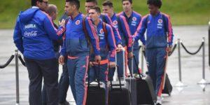 Multitudinario recibimiento a la selección de Colombia en Bogotá