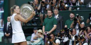 Kerber derrota a Serena Williams y cumple el sueño de ganar Wimbledon