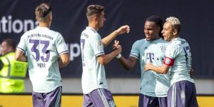 Bayern derrota 3-1 al PSG en los estrenos de Kovc y Tuchel