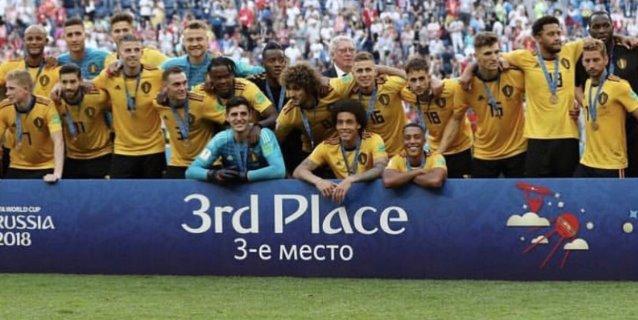 Bélgica se consuela con el tercer puesto y un 2-0 sobre Inglaterra