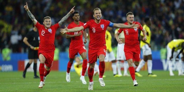 Dos de ocho: Inglaterra frena ante Colombia su maldición en penales