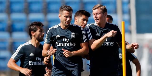 Kroos, Asensio, Nacho y Lucas Vázquez se incorporan al Real Madrid