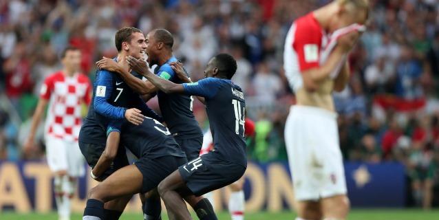 """Griezmann elogia la Francia campeona de """"orígenes múltiples"""""""