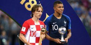 Luka Modric, el pequeño gigante del fútbol, mejor jugador del Mundial