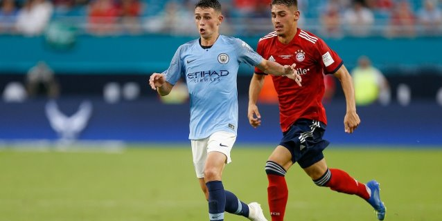 Manchester City derrota 3-2 al Bayern en la International Champions Cup