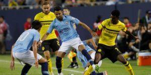 El City pierde con el Dortmund en el comienzo de la pretemporada