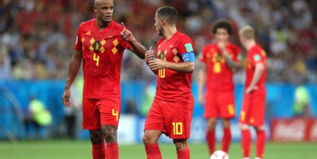 """Belga Kompany: """"Brasil es el más fuerte, pero no tenemos miedo"""""""