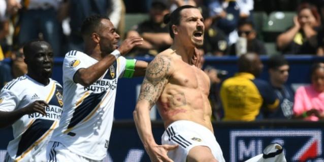 "Primer ""hat-trick"" de Zlatan Ibrahimovic en la liga norteamericana"