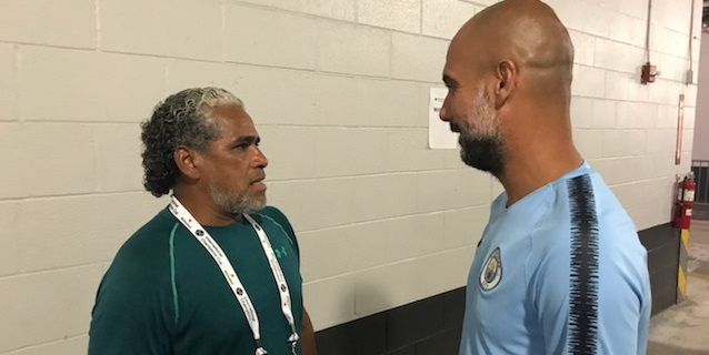 Los mejores del mundo. Pep Guardiola y José Mourinho en exclusiva con Primicia