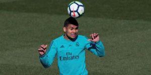 Casemiro vuelve a los entrenamientos en la Ciudad Real Madrid