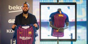 """El chileno Vidal asegura que fichó por el Barça """"para ganar la Champions"""""""