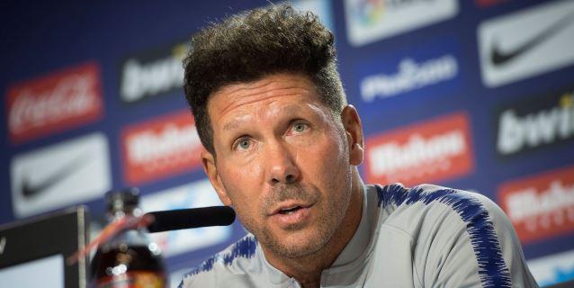 """Simeone: """"Quiero lo mejor para Filipe, pero también para el equipo"""""""
