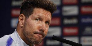 """Simeone: """"Si todo va normal, Filipe estará jugando contra el Celta"""""""
