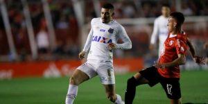 0-0. Independiente y Santos, con uno menos, se sacan chispas en el primer duelo