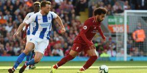 Salah mantiene el pleno de victorias del Liverpool (1-0)