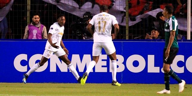 1-0. Liga de Quito aprovecha un error y vence al Deportivo Cali