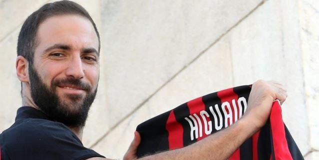Nápoles-Milan, regreso al pasado para Higuaín y Ancelotti