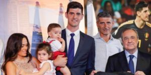 """El Real Madrid presenta a Courtois: """"Hoy cumplo un sueño"""""""