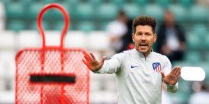 """Simeone: """"Los refuerzos dan buenas individualidades, no mejor equipo"""""""
