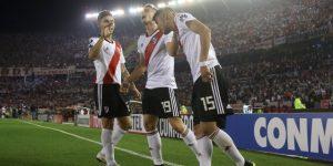 3-0. River golea a Racing y se cita con Independiente en cuartos de final de la Libertadores