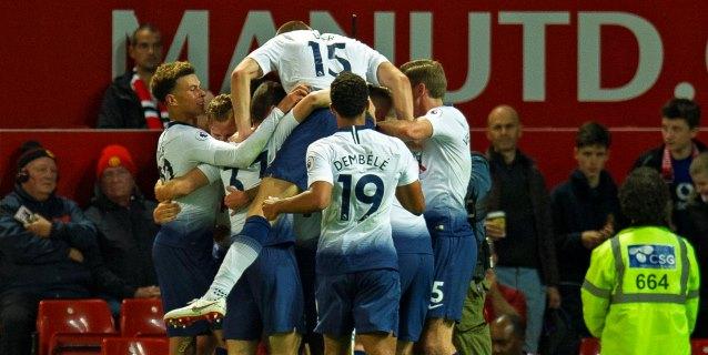 0-3. El Tottenham se hace mayor en Old Trafford
