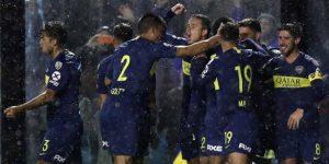 Boca se impone 2-0 a Libertad de Paraguay en la Copa Libertadores