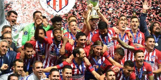 Atlético gana 4-2 en la prórroga al Real Madrid y conquista la Supercopa europea
