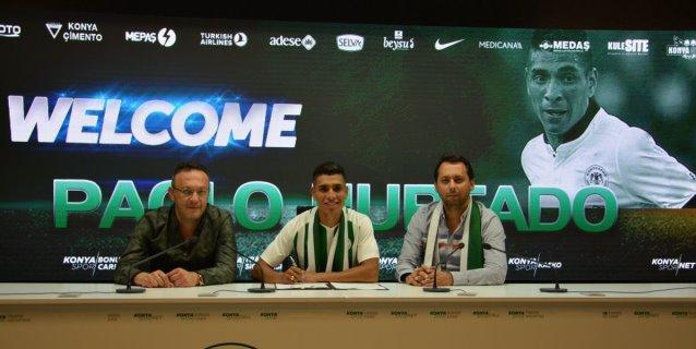 Paolo Hurtado jugará en el Konyaspor de Turquía en las próximas tres temporadas